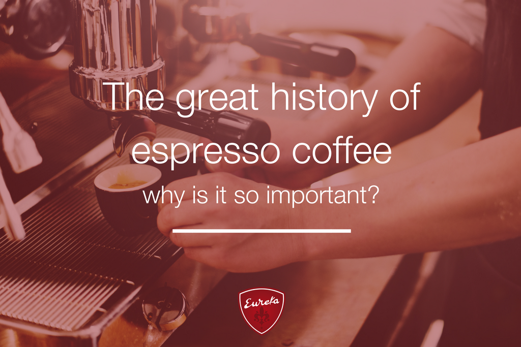 The great history of espresso coffee