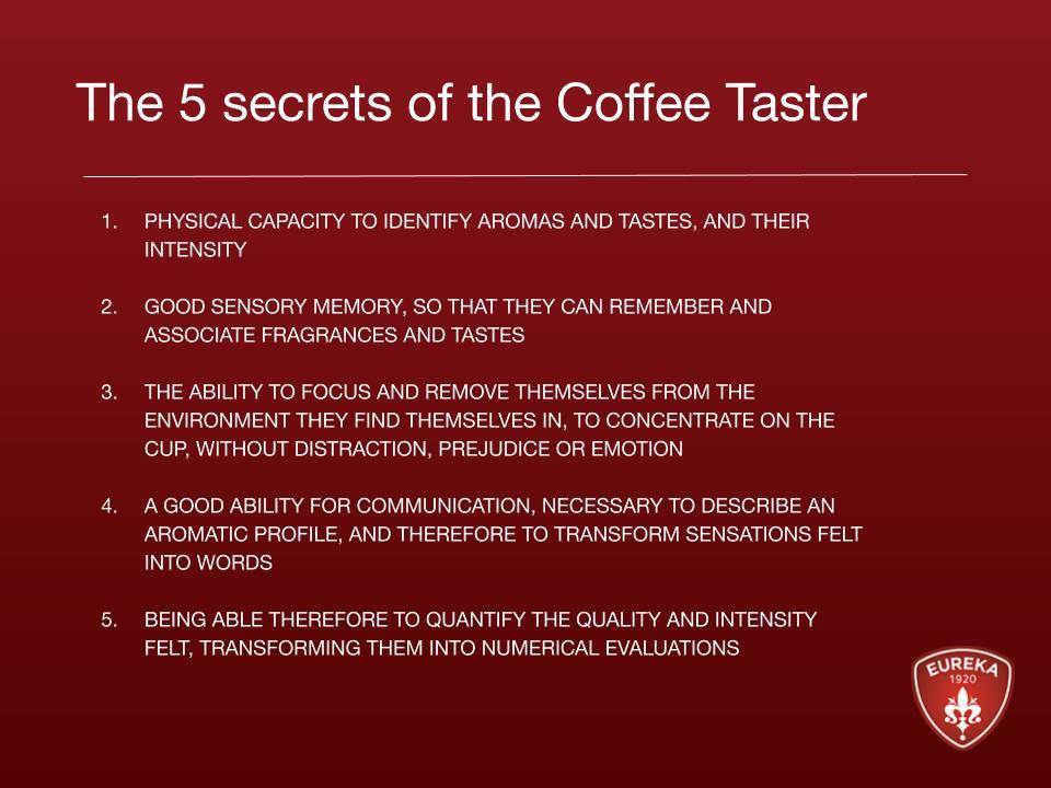 coffee taster secrets