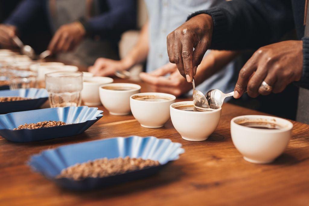 coffee tasting - evaluation