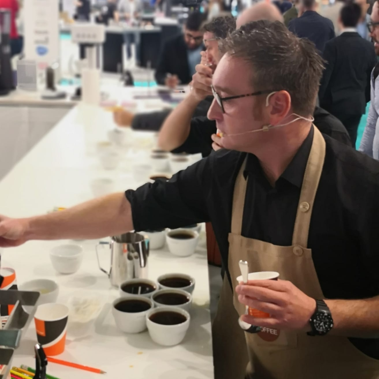 Technique and creativity in a cup: the quality of coffee according to Andrea Guerra